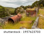 Remains In The Landscape Of An...
