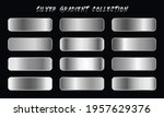 silver gradients swatches set...