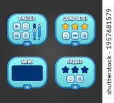 complete menu of graphical user ...
