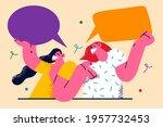 communication  speech  chat... | Shutterstock .eps vector #1957732453