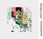 modern artwork of abstract...   Shutterstock .eps vector #1957758310