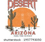 Cactus Desert Vector Design For ...