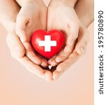 family health  charity and... | Shutterstock . vector #195780890