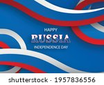 happy independence day of...   Shutterstock .eps vector #1957836556