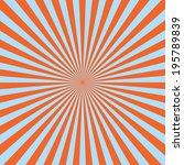 red color burst background.... | Shutterstock .eps vector #195789839