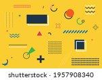 multipurpose minimal modern... | Shutterstock .eps vector #1957908340