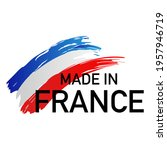 made in france label. national... | Shutterstock .eps vector #1957946719