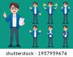 asian young man teacher have...   Shutterstock .eps vector #1957959676
