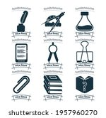 school and education icon set...