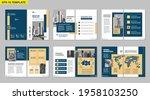 brochure creative design.... | Shutterstock .eps vector #1958103250