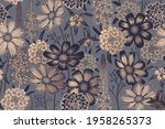 seamless spring floral pattern. ...   Shutterstock .eps vector #1958265373