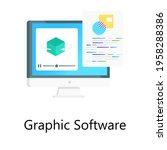 flat gradient vector of...   Shutterstock .eps vector #1958288386