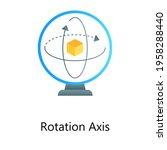 3d modelling inside rotation...   Shutterstock .eps vector #1958288440