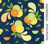 a beautiful vector seamless... | Shutterstock .eps vector #1958306593