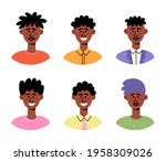 vector flat set with different...   Shutterstock .eps vector #1958309026