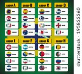 group soccer | Shutterstock .eps vector #195833360