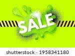 splash sale. super offer funny...   Shutterstock .eps vector #1958341180