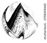 ink splash background . black...   Shutterstock .eps vector #1958344660