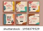 set of sale banner template...   Shutterstock .eps vector #1958379529