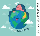 earth day. eco friendly concept....   Shutterstock .eps vector #1958381053