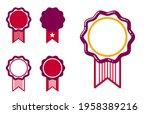 blank vector vintage classic... | Shutterstock .eps vector #1958389216