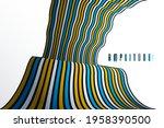 minimal design of abstract...   Shutterstock .eps vector #1958390500