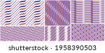 wavy lines water seamless...   Shutterstock .eps vector #1958390503