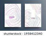 cover templates with dynamic... | Shutterstock .eps vector #1958412340