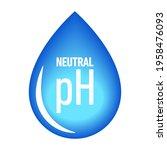 ph neutral balance vector icon  ...   Shutterstock .eps vector #1958476093