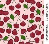 fresh juicy pattern with sweet... | Shutterstock .eps vector #1958497396