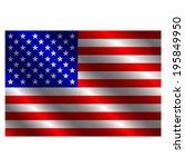usa flag   Shutterstock .eps vector #195849950