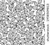 ink black and white monochrome... | Shutterstock .eps vector #1958509813