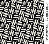 seamless geometric pattern.... | Shutterstock .eps vector #1958611810