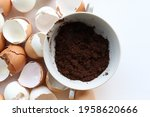 Used Coffee Grounds And...
