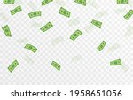vector money is falling from...   Shutterstock .eps vector #1958651056