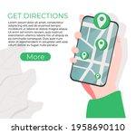 get directions website ui kit....