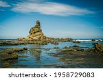 Eagles Nest Rock Formation With ...