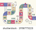 directions game concept...   Shutterstock .eps vector #1958775223