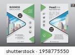 corporate business flyer poster ...   Shutterstock .eps vector #1958775550