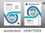 corporate business flyer poster ...   Shutterstock .eps vector #1958775553