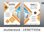 corporate business flyer poster ...   Shutterstock .eps vector #1958775556