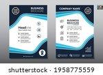 corporate business flyer poster ...   Shutterstock .eps vector #1958775559