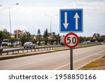 Several Road Signs  Speed Limit ...