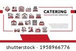 catering food service landing... | Shutterstock .eps vector #1958966776