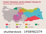 turkey economic geography map   ...   Shutterstock .eps vector #1958982379