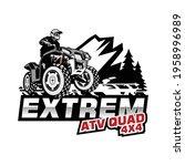 extrem atv squad illustration...   Shutterstock .eps vector #1958996989