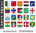 stamp with official country... | Shutterstock .eps vector #1958998606