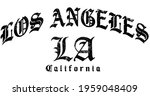 textured gothic los angeles... | Shutterstock .eps vector #1959048409