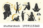 magic woman vector... | Shutterstock .eps vector #1959115360
