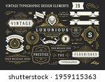 vintage typographic decorative... | Shutterstock .eps vector #1959115363